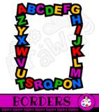 Alphabet Border Clip Art