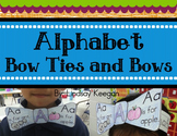 Alphabet Bow Ties and Bows