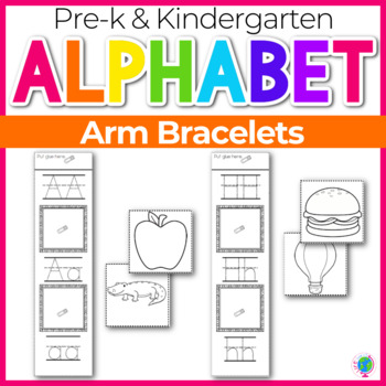 Alphabet Bracelet for Letter Recognition and Phonetic Awareness