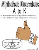 Alphabet Bracelets A-K