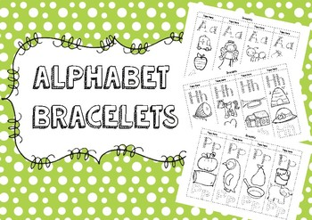 Alphabet Bracelets Bundle