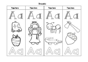 Alphabet Bracelets Bundle