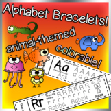Alphabet Bracelets, wristbands