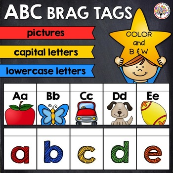 Alphabet Brag Tags