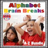 Alphabet Brain Breaks A-Z Bundle