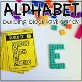 Alphabet Brick Building Task Cards