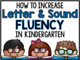 Letter & Sound Fluency Routine (Digital Learning & Printable)