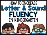 Letter & Sound Fluency Routine (Digital Learning & Printable)