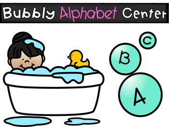 Alphabet Bubble Fun Centers