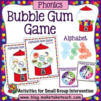 Alphabet - Bubble Gum Game