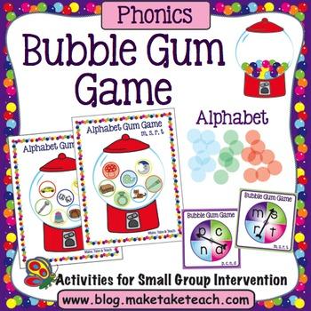 Alphabet - Bubble Gum Game