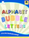 Alphabet Bubble Letters - Letter Identification Activity