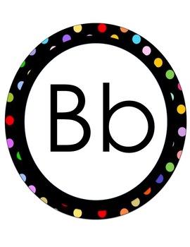 Alphabet & Number Bubbles