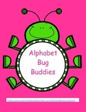 Upper and Lowercase Letter Alphabet Matching Game-Bug Buddies