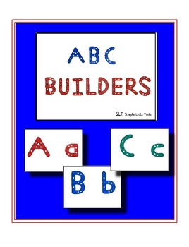 Alphabet Builders Book