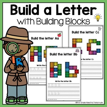 Alphabet Building Block Mats