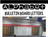 Alphabet Bulletin Board Letters