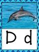 Alphabet Bulletin Board ~ OCEAN theme