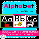 Alphabet Bulletin Board Posters {Bright & Bold}
