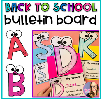 Alphabet Bulletin Board- The ABCs of our CLASS
