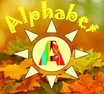 Fall - Alphabet - Numbers - Bulletin board - Interactive P