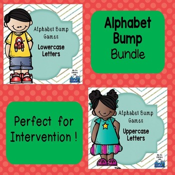 Alphabet Bump (Set of 2)
