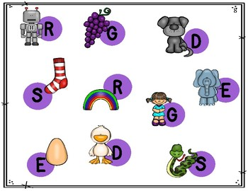 Alphabet Bump (Uppercase)