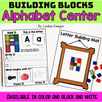 Alphabet Bundle - Printables, Centers, Wearables and More!