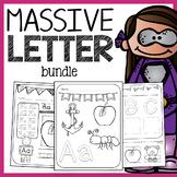 Alphabet Bundle - Letter Recognition, Phonics, and Handwriting Bundle