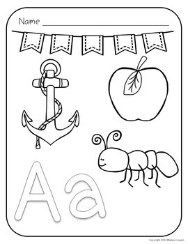 Alphabet Bundle - Letter Recognition, Phonics, and Handwriting Bundle