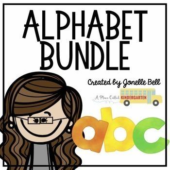 Alphabet Bundle (8 Activities)
