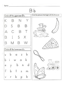 Alphabet Bundle / Alphabet & Phonics Worksheets / Letter of the Week Activities
