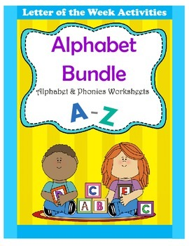 Alphabet Bundle / Alphabet & Phonics Worksheets / Letter o