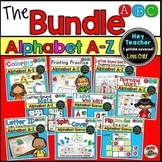 Alphabet Bundle (Games, Coloring, Printing, Sorts, Morning Work, Centers)