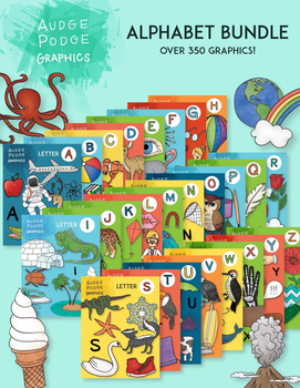 Alphabet Bundle Graphics