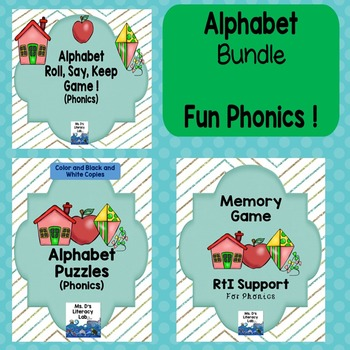 Alphabet Phonics (Set of 3)