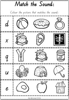 Alphabet Bundle QLD Beginners Font: Worksheets, Posters, Handwriting