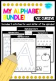 Alphabet Activities - VIC Cursive