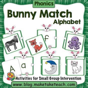 Alphabet - Bunny Alphabet Match