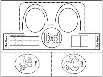 Alphabet Headband