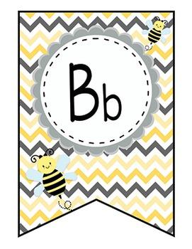 Bee Alphabet