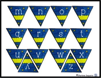 Alphabet Bunting Lower Case