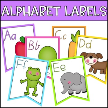 Alphabet Bunting Posters