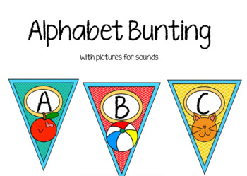 Alphabet Bunting - Room Decor