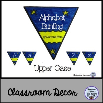 Alphabet Bunting Upper Case