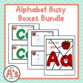 Alphabet Task Box Activities Bundle