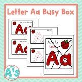 Alphabet Busy Boxes: Letter A