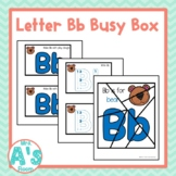 Alphabet Busy Boxes: Letter B