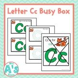 Alphabet Busy Boxes: Letter C