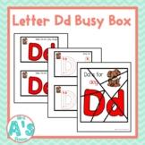 Alphabet Busy Boxes: Letter D